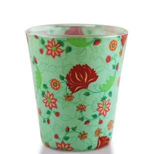 Mughal Blooms Shot Glass Serveware By Kolorobia