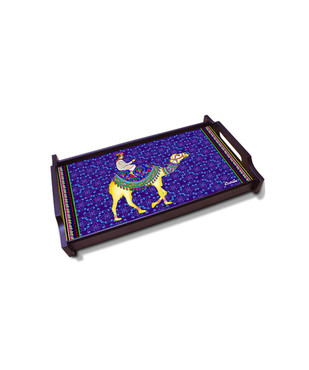 Camel Glory Medium Wooden Tray Tray By Kolorobia