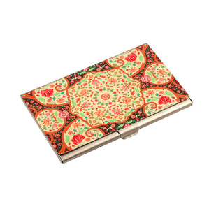 Mughal Blooms Visiting Card Holder Visiting Card Holder By Kolorobia
