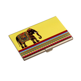 Elephant Majesty Visiting Card Holder Visiting Card Holder By Kolorobia