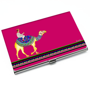 Camel Glory Visiting Card Holder Visiting Card Holder By Kolorobia