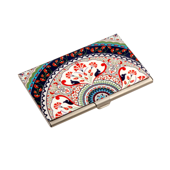 Turkish Fervor Visiting Card Holder Visiting Card Holder By Kolorobia