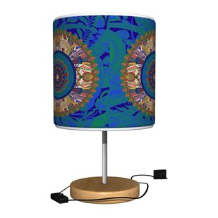 Egyptian Tranquility Table Lamp Table Lamp By Kolorobia