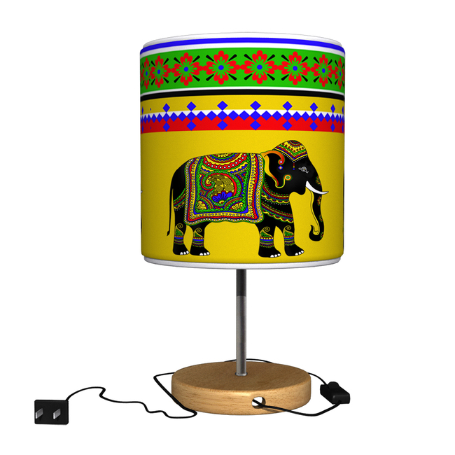 Elephant Majesty Table Lamp Table Lamp By Kolorobia