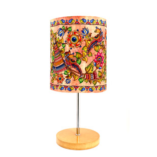 Kalamkari Finesse Table Lamp Table Lamp By Kolorobia
