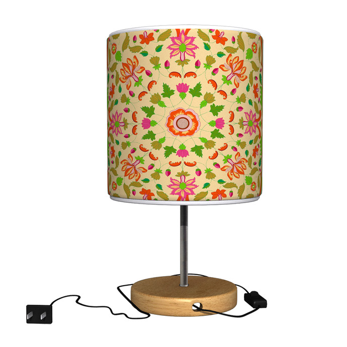 Ornate Mughal Table Lamp Table Lamp By Kolorobia