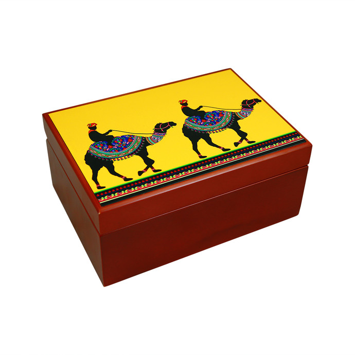 Princely camel Tea Chest Kitchen Ware By Kolorobia