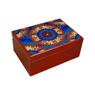 Egyptian Tranquility Tea Chest Kitchen Ware By Kolorobia