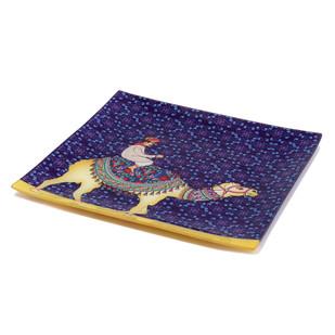 Camel Glory Snack Platter Small Platter By Kolorobia