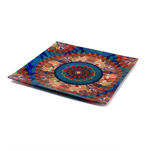 Egyptian Tranquility Snack Platter Small Platter By Kolorobia