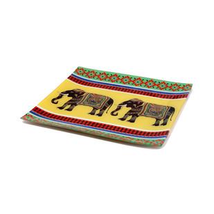 Elephant Majesty Snack Platter Small Platter By Kolorobia