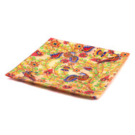 Kalamkari Finesse Snack Platter Small Platter By Kolorobia