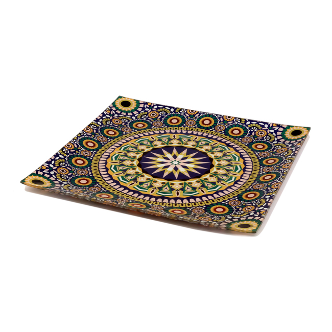 Moroccan Inspiration Snack Platter Small Platter By Kolorobia