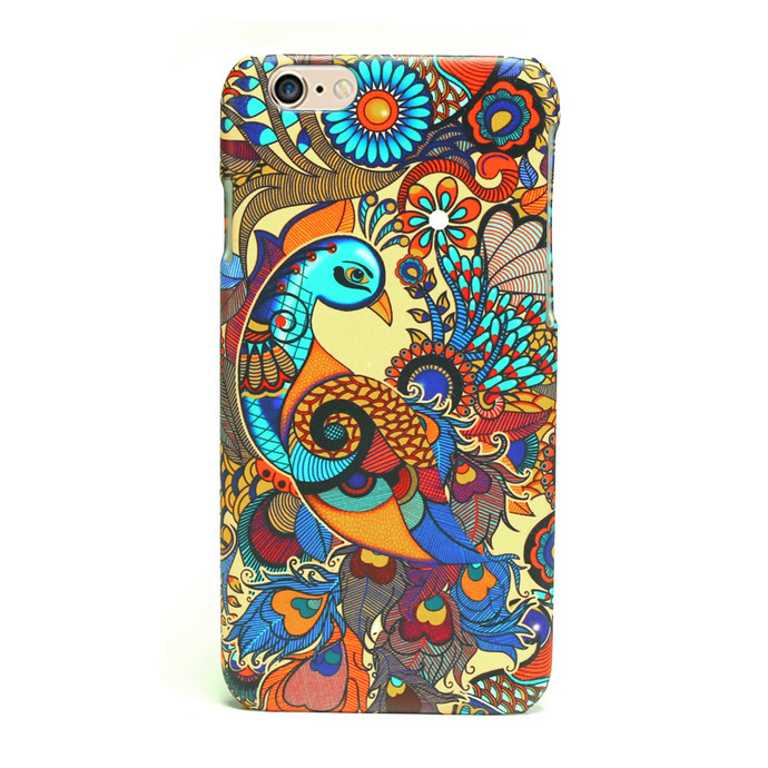 Peacock Admiration I Phone 6+ Cover I-Phone Cover By Kolorobia