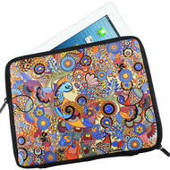 Peacock Admiration I Pad Sleeve Ipad Sleeve By Kolorobia