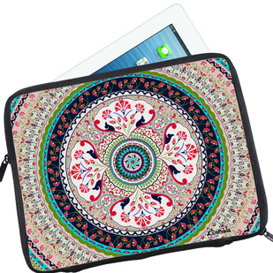Kalamkari Finesse I Pad Sleeve Ipad Sleeve By Kolorobia
