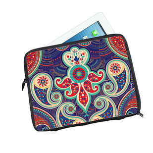 Majestic Paisley I Pad Sleeve Ipad Sleeve By Kolorobia