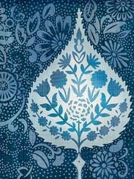 Watercolor Blockprint I Digital Print by Zarris, Chariklia,Decorative