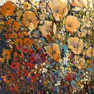 Bright and Bold Flowers I Digital Print by OToole, Tim,Impressionism