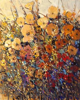 Bright and Bold Flowers II Digital Print by OToole, Tim,Decorative