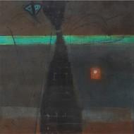 13 moonlight sonata  60x60 inch mix media on canvas %28rs 1 80 000%29