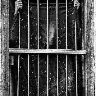 A Caged Life by Taha Ahmad, Image Photography, Digital Print on Archival Paper,
