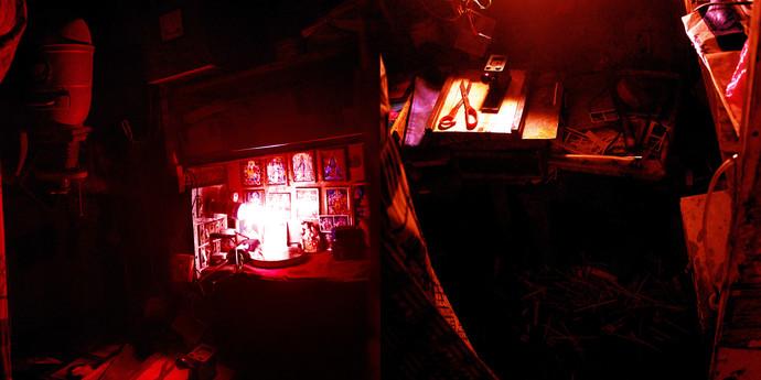 The Darkroom by Vikas Gupta, Image Photography, Digital Print on Enhanced Matt, Brown color