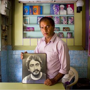 The Darkroom Artist by Vikas Gupta, Image Photography, Digital Print on Enhanced Matt, Brown color