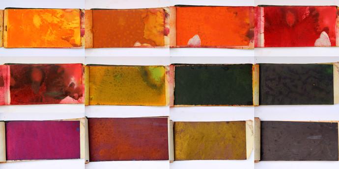 Photo Colours by Vikas Gupta, Image Photography, Digital Print on Enhanced Matt, Brown color