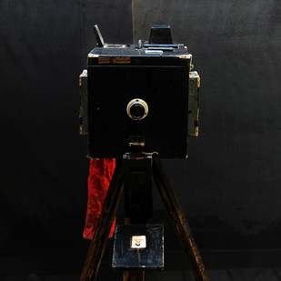 The Box Camera by Vikas Gupta, Image Photography, Digital Print on Enhanced Matt, Black color