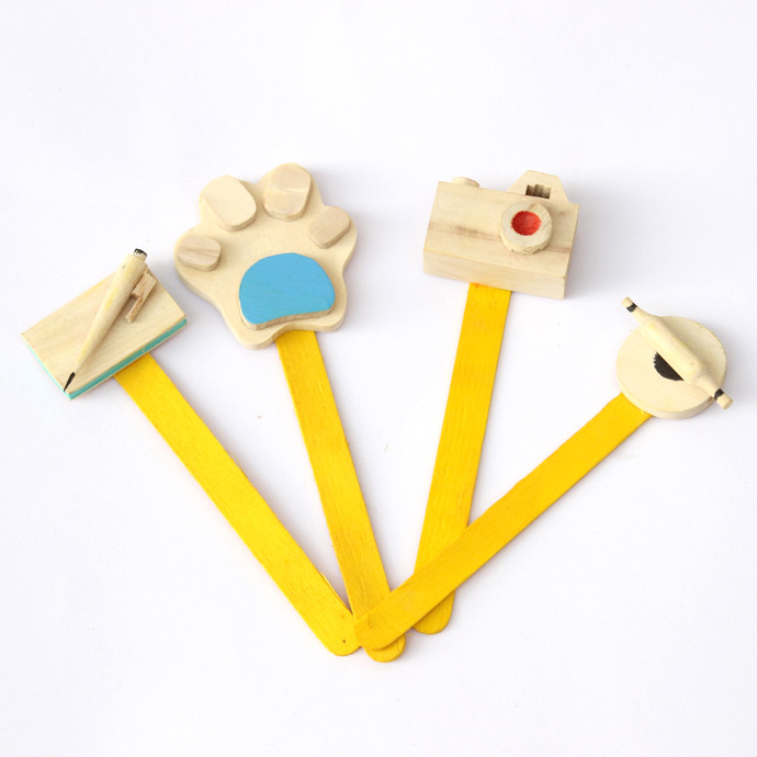 IVEI wooden miniature Bookmark Stationery By i-value-every-idea