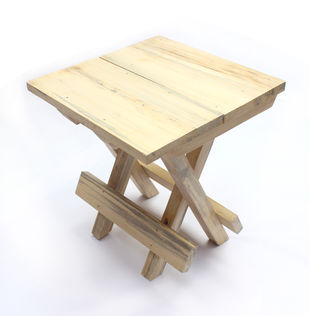 IVEI Wooden Portable Folding table - small (9.5in) Furniture By i-value-every-idea