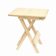 IVEI Wooden Portable Folding Table - Medium (12in) Furniture By i-value-every-idea