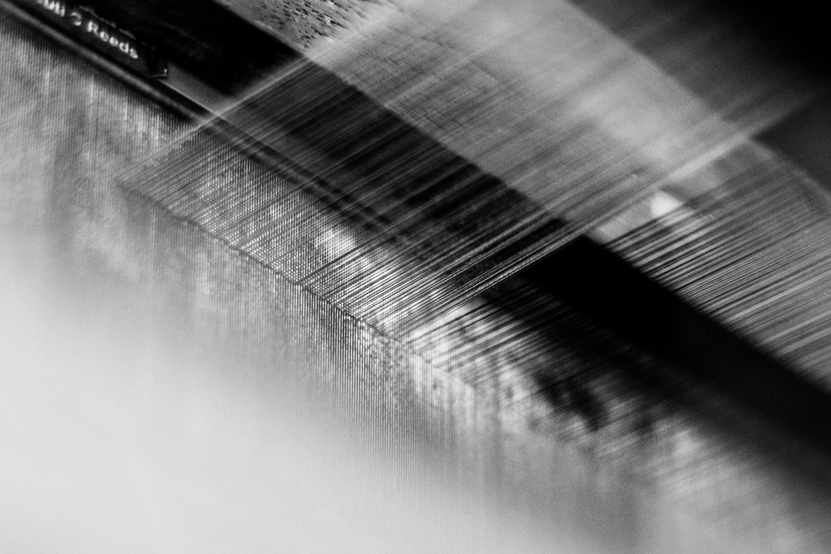 Lifelines of thread by Bharat Tiwari, Image Photography, Digital Print on Archival Paper, Gray color