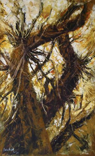 roots Digital Print by Sachin Upadhye,Abstract