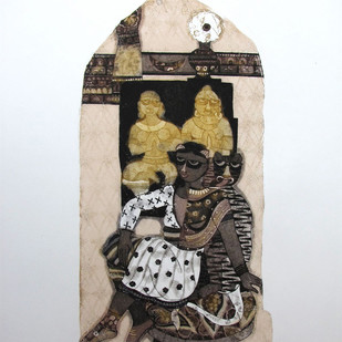Photoshoot by Sonal Varshneya, Pop Art Printmaking, Etching on Paper, Gray color
