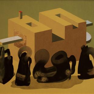 Untitled Digital Print by Amrut Patel,Expressionism