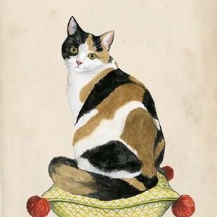 Lady Cat III Digital Print by Popp, Grace,Impressionism