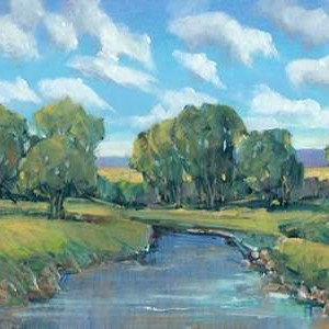 Lazy River Day II Digital Print by Otoole, Tim,Impressionism