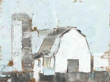 Barn and Silo II Digital Print by Harper, Ethan,Expressionism