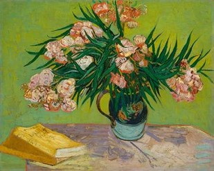 Oleanders Digital Print by Van Gogh, Vincent,Expressionism