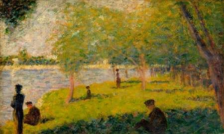 Study for a Sunday on La Grande Jatte Digital Print by Seurat, Georges,Impressionism