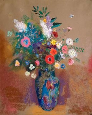 Bouquet of Flowers Digital Print by Redon, Odilon,Decorative