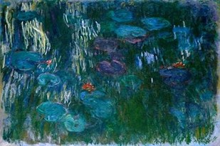 Water Lilies II Digital Print by Monet, Claude O.,Abstract