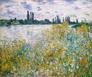 Lle aux Fleurs near Vetheuil Digital Print by Monet, Claude O.,Impressionism