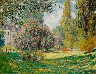 Landscape-The Parc Monceau Digital Print by Monet, Claude O.,Impressionism