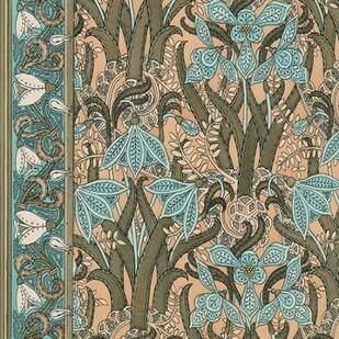 Nouveau Textile Motif I Digital Print by Vision Studio,Art Deco