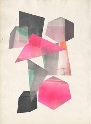 Collaged Shapes I Digital Print by Goldberger, Jennifer,Geometrical