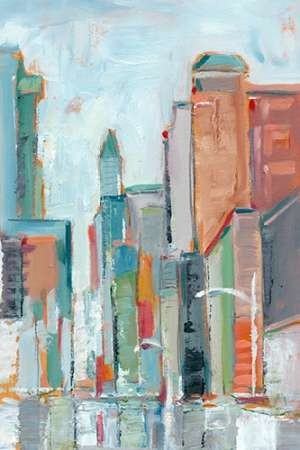 Downtown Contemporary I Digital Print by Harper, Ethan,Impressionism
