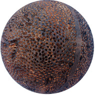 Dot by Vijay Pichumani, Abstract Sculpture | 3D, Wood, Brown color
